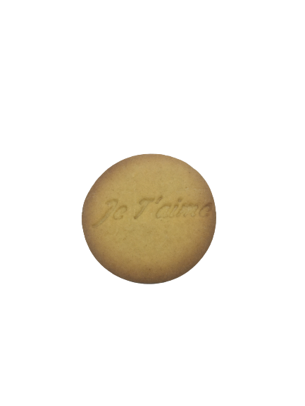 Biscuit Je t'aime